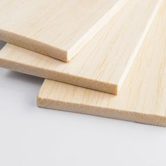 BALSA SHEET - 75MM WIDE - THICK SHEETS