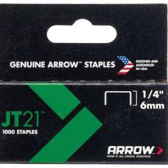 """1/4"""" STAPLES FOR T27/JT21 GUN"""