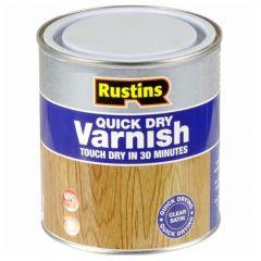 RUSTINS ACRYLIC CLEAR VARNISH