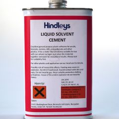 LIQUID SOLVENT CEMENT