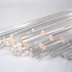CLEAR ROUND ACRYLIC ROD