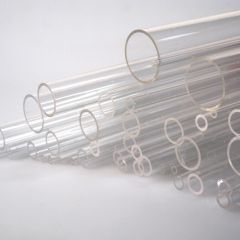 CLEAR ROUND ACRYLIC TUBE